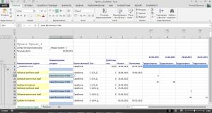 Заполнение ответственными обменных документов Excel